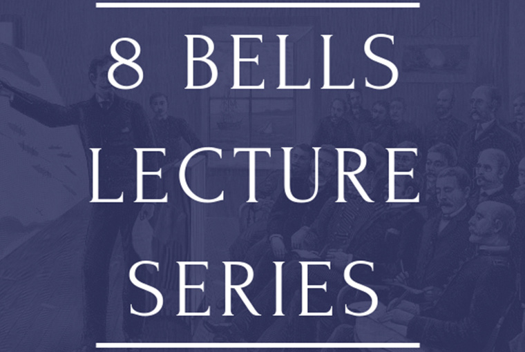 Eight Bells Lecture Series web banner