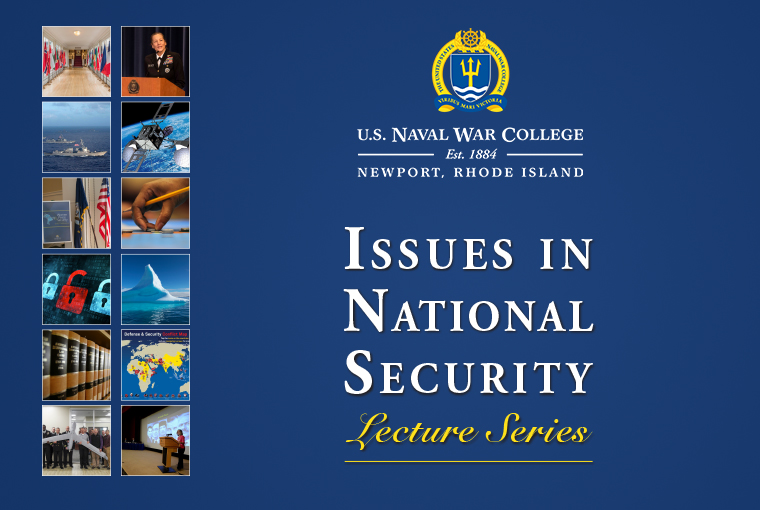 Issues in National Security Banner