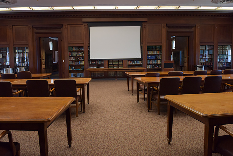Mahan Reading Room at the U.S. Naval War College