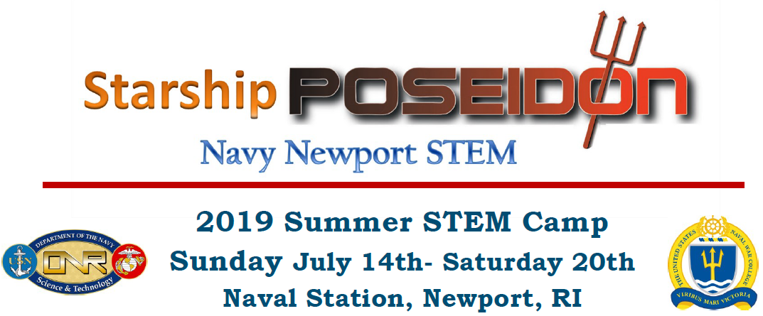 Starship Poseidon Summer STEM Camp banner